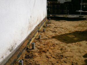 ScrewFast Skurepæle installeret og klar til det videre byggeri