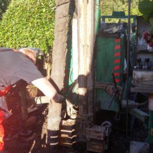 Udtagning af jordprøver fra boresnegl