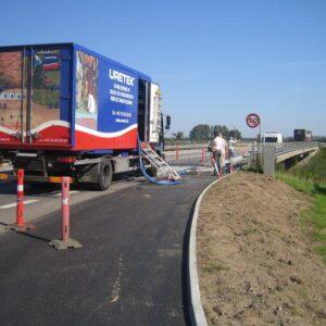 Stabilisering af motorvejstilkørsel