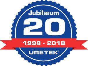 Uretek 20 års Jubilæum i 2018