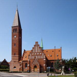 Facade Vor Frelser Kirke