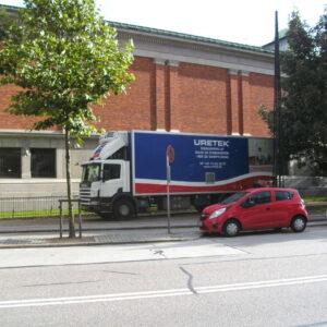 Parkering foran Ny Carlsberg Glytotek