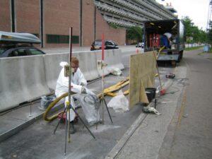 Stabilisering af busholdeplads i København med Uretek Metoden