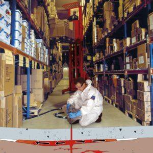 Stabilisering af industrigulv med Uretek Metoden