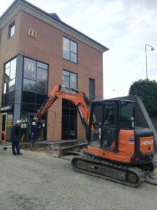McCafé i Svendborg står på Screwfast Skruepæle